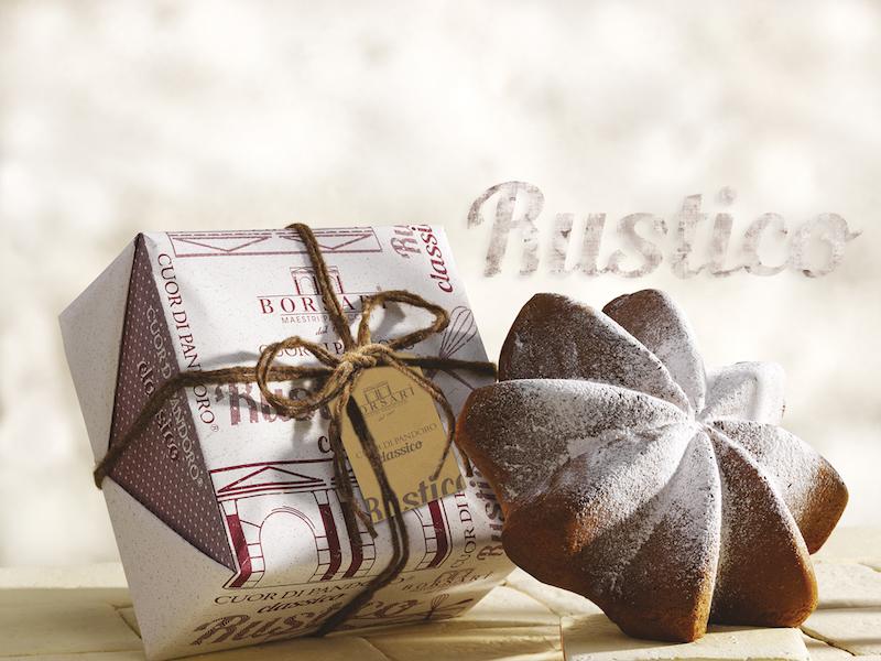 Pandoro Rustico Borsari Natale