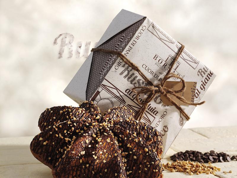 Cuor di Pandoro Rustico Borsari Natale crema mascarpone frutti di bosco