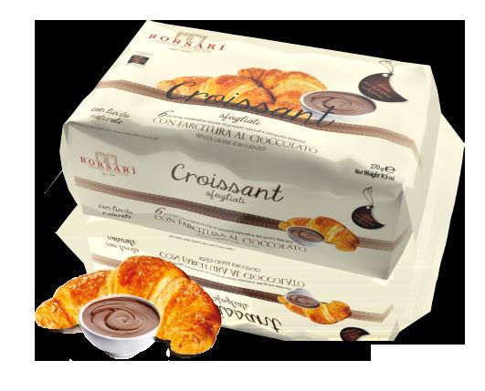Croissant Cioccolato Borsari Maestri Pasticceri colazione