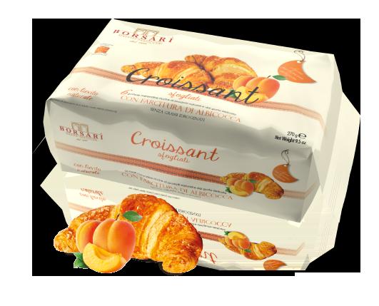 Croissant Albicocca Colazione Borsari Maestri Pasticceri