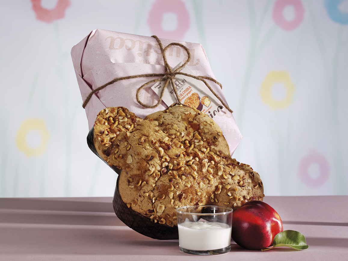 Colomba crema al pistacchio Borsari Pasqua