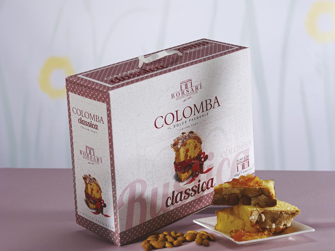 Colomba Classica in astuccio Borsari Pasqua