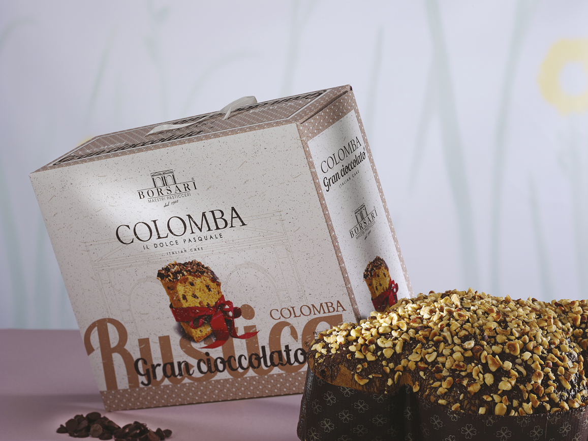Colomba gran cioccolato Borsari Pasqua