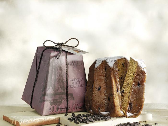 Pandoro Rustico Borsari Natale Gocce di cioccolato
