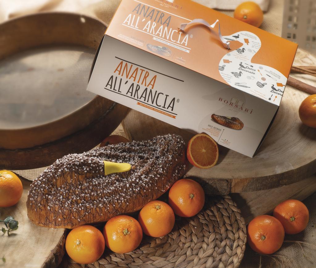 Anatra arancia in astuccio Borsari Maestri Pasticceri