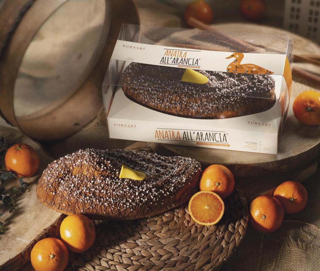 Anatra arancia in pvc Borsari Maestri Pasticceri