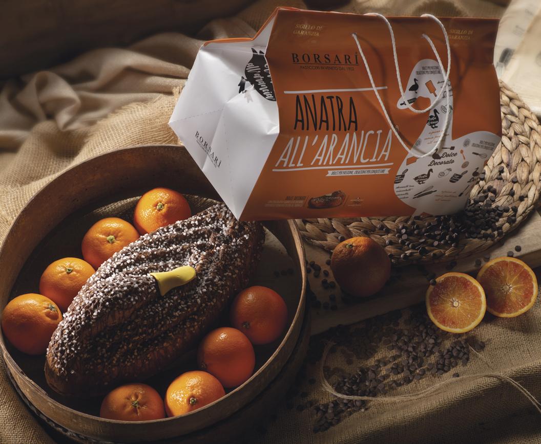 Anatra all'arancia in shopper Borsari Maestri Pasticceri